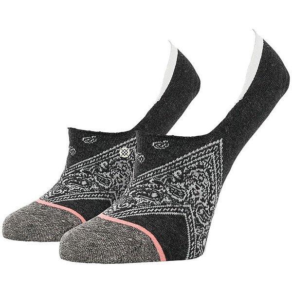 Носки низкие женские Stance Bell Hop Charcoal<br><br>Цвет: черный,серый<br>Тип: Носки низкие<br>Возраст: Взрослый<br>Пол: Женский