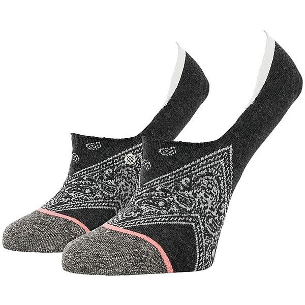 Носки низкие женские Stance Bell Hop Charcoal
