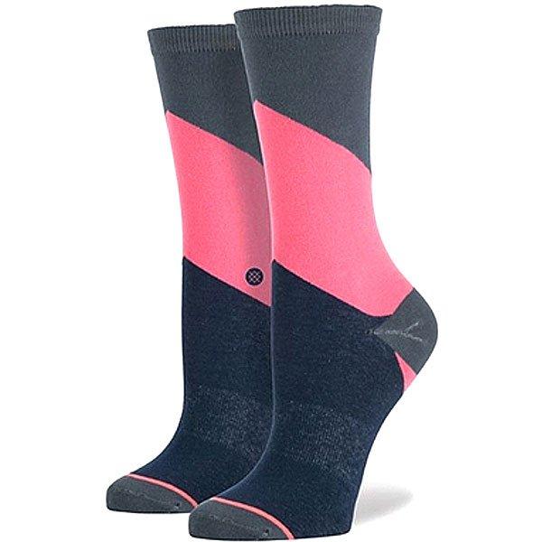 Носки средние женские Stance Women Chev Grey<br><br>Цвет: синий,розовый,серый<br>Тип: Носки средние<br>Возраст: Взрослый<br>Пол: Женский