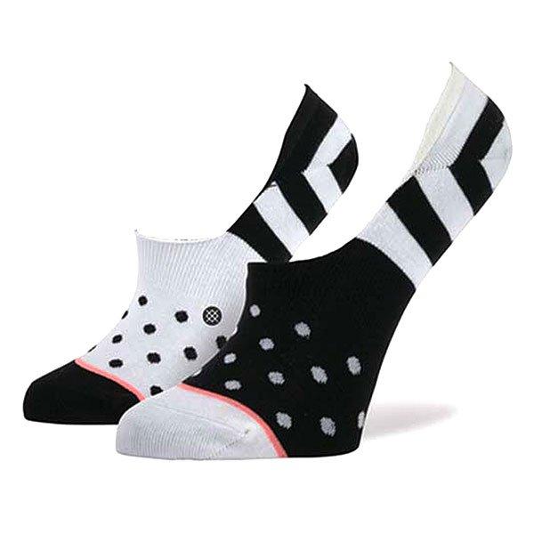 Носки низкие женские Stance Downtown Black<br><br>Цвет: белый,черный<br>Тип: Носки низкие<br>Возраст: Взрослый<br>Пол: Женский