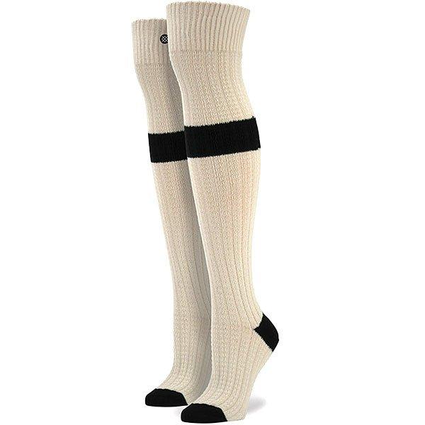 Носки высокие женские Stance Gemini Natural<br><br>Цвет: бежевый,черный<br>Тип: Носки высокие<br>Возраст: Взрослый<br>Пол: Женский