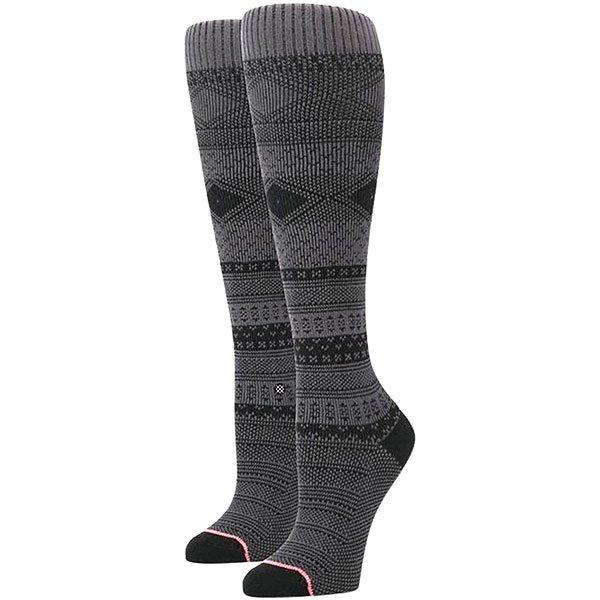 Носки высокие женские Stance Renegade Grey<br><br>Цвет: черный,серый<br>Тип: Носки высокие<br>Возраст: Взрослый<br>Пол: Женский