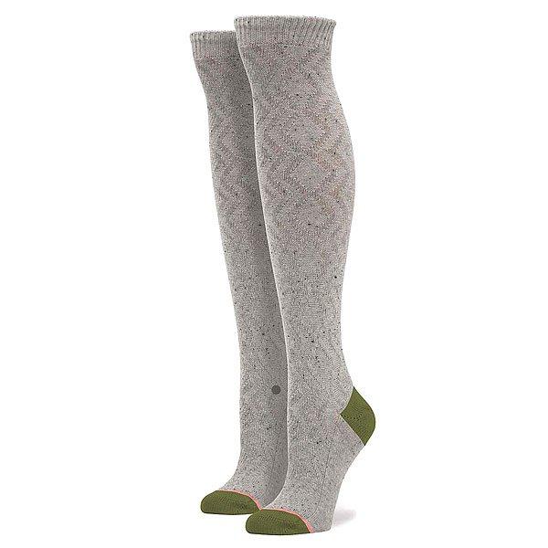 Носки высокие женские Stance Blonde Grey над коленом бедро высокие носки хлопка чулки леггинсы женские женщины девушки