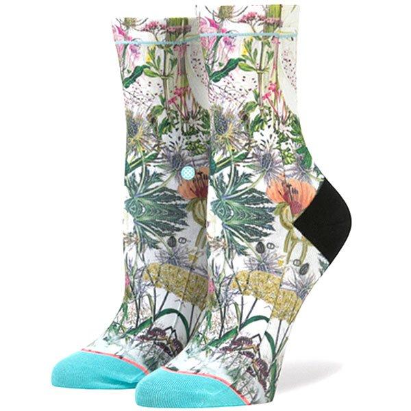 Носки средние женские Stance Chaotic Flower Blue цены онлайн