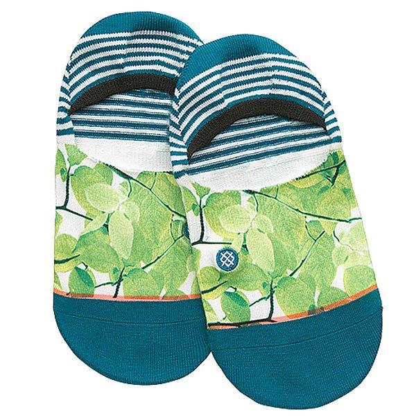 Носки низкие женские Stance Foliage Green<br><br>Цвет: синий,зеленый<br>Тип: Носки низкие<br>Возраст: Взрослый<br>Пол: Женский