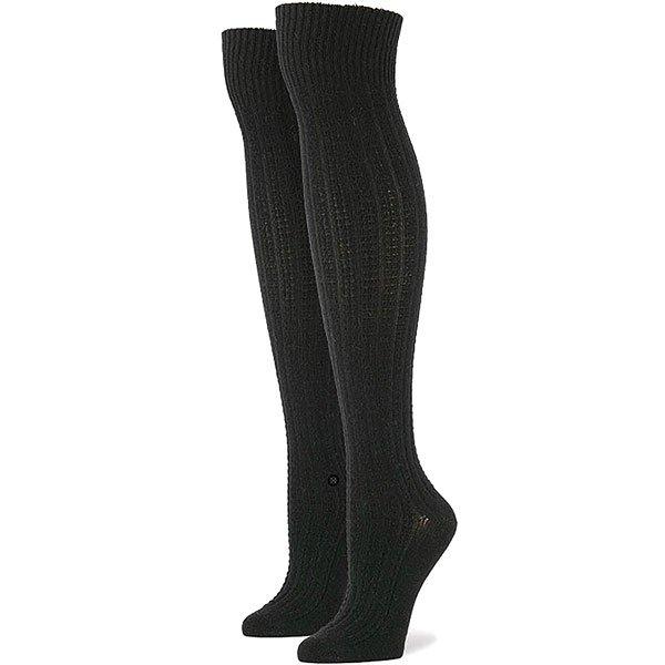Носки высокие женские Stance Soho Black<br><br>Цвет: черный<br>Тип: Носки высокие<br>Возраст: Взрослый<br>Пол: Женский