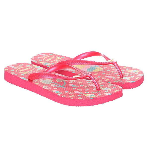 Вьетнамки детские Havaianas Fun Pink