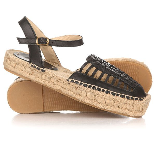 Сандалии женские Soludos Huarache Sandal Black<br><br>Цвет: черный<br>Тип: Сандалии<br>Возраст: Взрослый<br>Пол: Женский