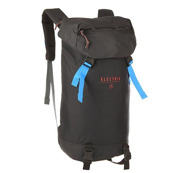 Рюкзак туристический Electric Ruck Pack MotorradБольшой туристический рюкзак из прочной парусины выдержит любое испытание! Рюкзак имеет одно основное отделение и карманы, а также специальный мягкий отсек для ноутбука.Технические характеристики: Материал рюкзака - прочная парусина.Подкладка из ткани микро RIPSTOP.Большое основное отделение.Карман для солнцезащитных очков.Боковой мягкий карман для ноутбука.Эргономичные мягкие лямки.Компрессионные ремни.<br><br>Цвет: черный<br>Тип: Рюкзак туристический<br>Возраст: Взрослый<br>Пол: Мужской