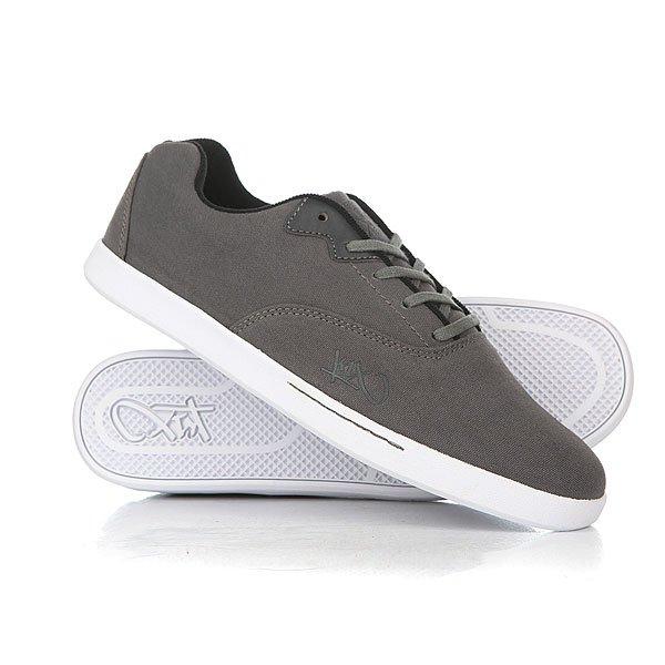 Кеды кроссовки низкие K1X Cali Dark Grey/Black/White