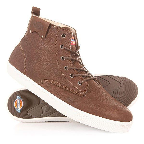 Кеды кроссовки утепленные Dickies Iron Dark Brown<br><br>Цвет: коричневый<br>Тип: Кеды утепленные<br>Возраст: Взрослый<br>Пол: Мужской