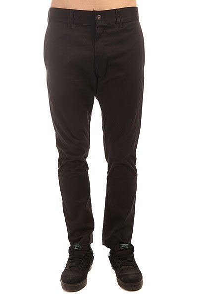 ����� ������ Dickies Dropped Taper Twill Pant Black