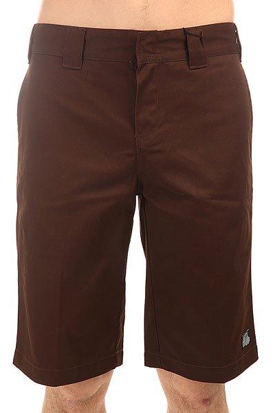 Шорты классические Dickies Ah Dk 13 Short Dark Brown<br><br>Цвет: коричневый<br>Тип: Шорты классические<br>Возраст: Взрослый<br>Пол: Мужской