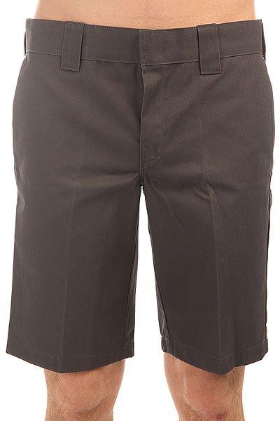 Шорты классические Dickies 11 Inch Slim Straight Work Short Charcoal Grey<br><br>Цвет: серый<br>Тип: Шорты классические<br>Возраст: Взрослый<br>Пол: Мужской