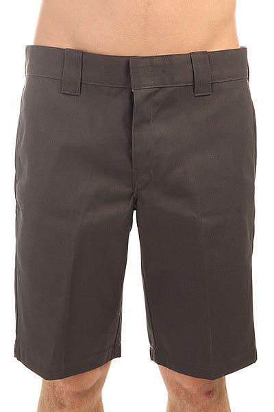 Шорты классические Dickies Slim Stgt Wkshort Charcoal Grey<br><br>Цвет: серый<br>Тип: Шорты классические<br>Возраст: Взрослый<br>Пол: Мужской