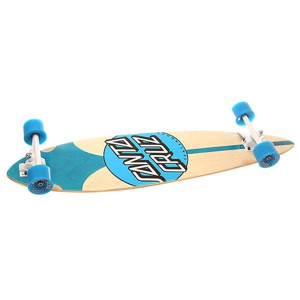 Лонгборд Santa Cruz S6 Azul Pintail Cruzer Dot 9.58 x 39 (99 см)