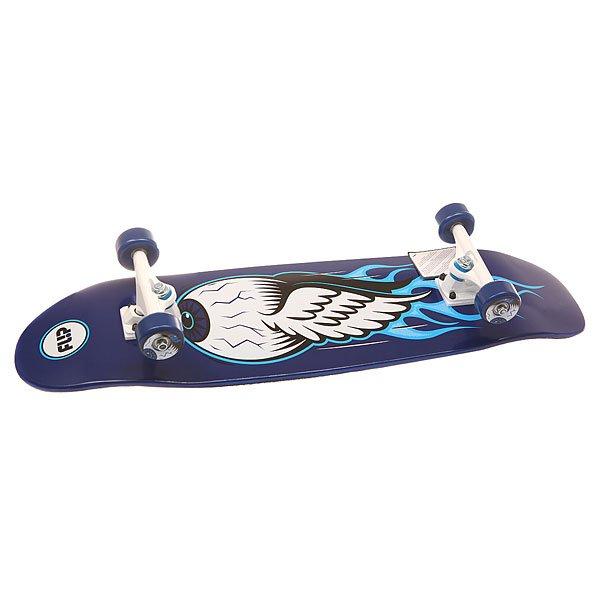 Скейт круизер Flip S6 Eyeball Cruzer Cruzer Blue 9.5 x 32.75 (83 см)Надежный скейтборд, готовый к новым приключениям и трюкам, снабжен отличной и всегда уместной контрастной графикой с фирменным логотипом.Характеристики:Подвески:Bullet 150.Колеса: Flip 66mm, 78a. Подшипники:Abec 3. 7-слойная конструкция из древесины клена.<br><br>Цвет: синий,белый,голубой<br>Тип: Скейт круизер<br>Возраст: Взрослый<br>Пол: Мужской