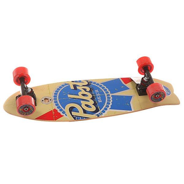 Скейт мини круизер Santa Cruz S6 Pbc Shark Cruzer Vintage 8.8 x 27.7 (70.4 см)