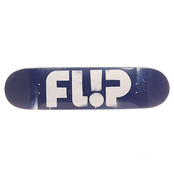 Дека для скейтборда для скейтборда Flip S6 Team Odyssey Stencil Blue 31.5 x 8.0 (20.3 см)Ширина деки: 8.0 (20.3 см)    Длина деки: 31.5 (80 см)    Количество слоев: 7Выполненая в лучших традициях качества Santa Cruz. Крутой дизайн, прочная конструкция, средний конкейв - она создана для совершенствования Ваших навыков!Характеристики:Скейтбордическая дека.Конструкция из 7-ми слойного клена. Конкейв: medium.<br><br>Цвет: синий,белый<br>Тип: Дека для скейтборда<br>Возраст: Взрослый<br>Пол: Мужской