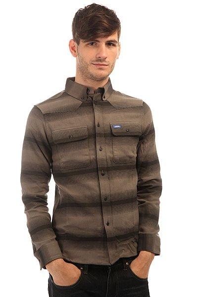 Рубашка Etnies Chaley BlackРубашка классического кроя всегда займет достойное место в вашем гардеробе.Характеристики:Два накладных кармана на груди. Застежка - пуговицы. Классический воротник. Длинный рукав. Манжеты на пуговицах.<br><br>Цвет: серый<br>Тип: Рубашка<br>Возраст: Взрослый<br>Пол: Мужской
