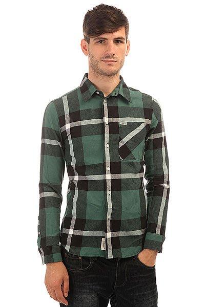 Рубашка в клетку Etnies Chi Town L/S Flannel Black рубашка colin s colin s mp002xm0wcm1