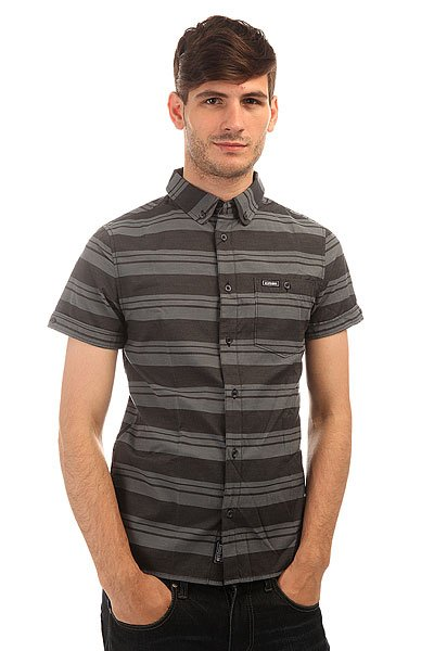 Рубашка Etnies Stesick S/S Woven Black рубашка colin s colin s mp002xm0wcm1