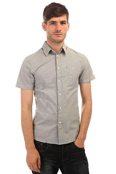 Рубашка Etnies Castaic S/S Woven Lt. Grey рубашка colin s colin s mp002xm0wcm1
