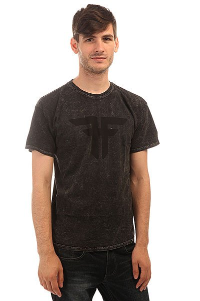 Футболка Fallen Spirit S/S Tee Black fallen футболка fallen verte heat grey black