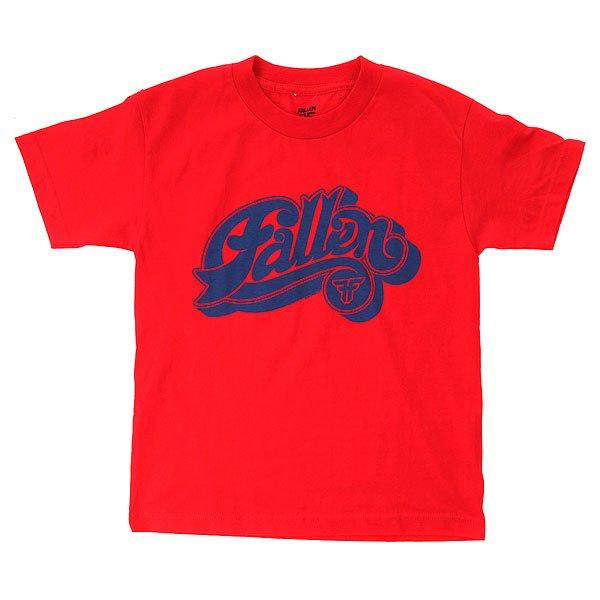 Футболка детская Fallen Hustle Red/Royal<br><br>Цвет: красный<br>Тип: Футболка<br>Возраст: Детский