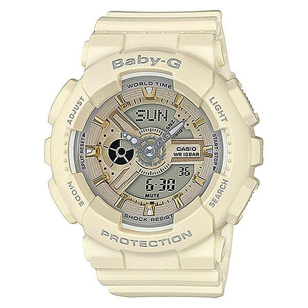 Электронные часы женские Casio Baby-g Ba-110ga-7a2 Beige