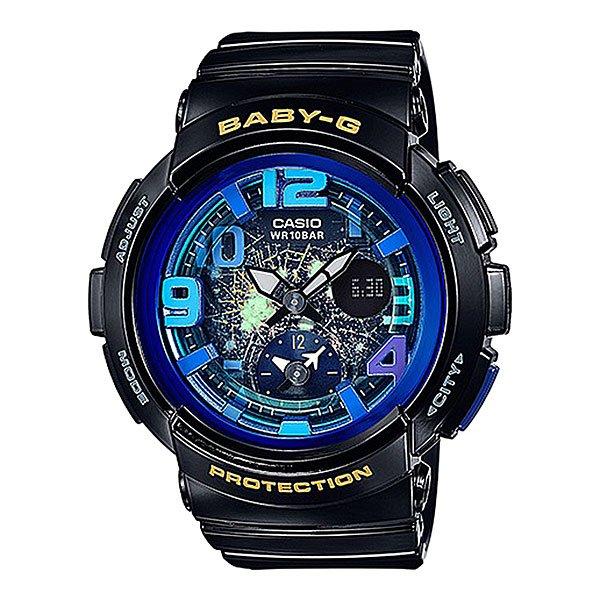 все цены на Электронные часы женские Casio Baby-g Bga-190gl-1b Black онлайн