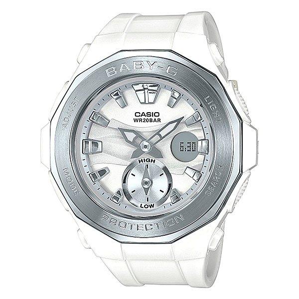 Электронные часы детские Casio Baby-g Bga-220-7a WhiteНовинка в коллекции часов от Casio. Стильные наручные часы в прочном корпусе из нержавеющей стали с оптимальным набором функций на каждый день.Технические характеристики: Светодиодная подсветка.Ударопрочная конструкция защищает от ударов и вибрации.Функция мирового времени.Функция секундомера- 1 час.Таймер - 1/1 мин. - 1 час.Ежедневный будильник.Включение/выключение звука кнопок.Функция перемещения стрелок.Автоматический календарь.12/24-часовое отображение времени.Минеральное стекло.Корпус из нержавеющей стали и полимера.Ремешок из полимерного материала.Срок службы аккумулятора - 2 года.Точность +/- 30 сек в месяц.<br><br>Цвет: белый<br>Тип: Электронные часы<br>Возраст: Детский