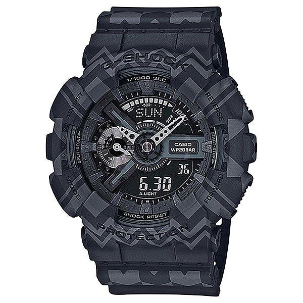 Электронные часы Casio G-Shock Ga-110tp-1a GreyФункциональные и ударопрочные наручные часы в мощном корпусе из полимерного материала.Технические характеристики: Подсветка циферблата.Ударопрочная конструкция защищает от ударов и вибрации.Устойчивость к воздействию магнитного поля.Функция мирового времени.Функция секундомера - 1/1000 сек. - 100 часов.Таймер - 1/1 мин. - 24 часа (с автоматическим повтором).5 ежедневных будильников.Функция повтора будильника.Отображение скорости.Автоматический календарь.12/24-часовое отображение времени.Минеральное стекло.Корпус из полимерного пластика.Ремешок из полимерного материала.Срок службы аккумулятора - 2 года.Точность +/- 15 сек в месяц.<br><br>Цвет: серый<br>Тип: Электронные часы<br>Возраст: Взрослый<br>Пол: Мужской