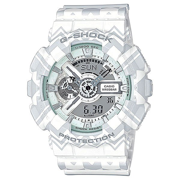 Электронные часы Casio G-Shock Ga-110tp-7a White casio g shock ga 110tp 7a