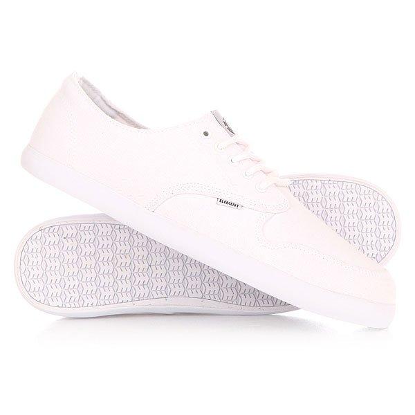 Кеды кроссовки низкие Element Topaz WhiteСовременный, усовершенствованный силуэт, который сохранил неизменный уличный стиль модели Topaz. Усиленный носок обеспечивает долговечность скейтовой обуви, а низкий профиль и вулканизированная конструкция свежий стиль, который так необходим!Технические характеристики: Прочная парусина.Тонкий и низкий профиль.Усиленный носок для долговечности.Плоская шнуровка с металлическими люверсами.Вулканизированная конструкция.Модернизированная резиновая подошва с фирменным протектором и логотипом Element.Современный, усовершенствованный силуэт, который сохранил неизменный уличный стиль модели Topaz. Усиленный носок обеспечивает долговечность скейтовой обуви, а низкий профиль и вулканизированная конструкция свежий стиль, который так необходим!Технические характеристики: Прочная парусина.Тонкий и низкий профиль.Усиленный носок для долговечности.Плоская шнуровка с металлическими люверсами.Вулканизированная конструкция.Модернизированная резиновая подошва с фирменным протектором и логотипом Element.<br><br>Цвет: белый<br>Тип: Кеды низкие<br>Возраст: Взрослый<br>Пол: Мужской