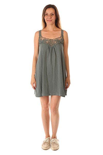 Платье женское Element Ring Drizzle<br><br>Цвет: серый<br>Тип: Платье<br>Возраст: Взрослый<br>Пол: Женский