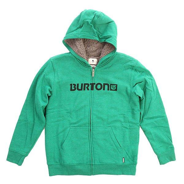 Толстовка утепленная детская Burton Mid Firesde Fz Heather Ultramarine<br><br>Цвет: зеленый<br>Тип: Толстовка утепленная<br>Возраст: Детский