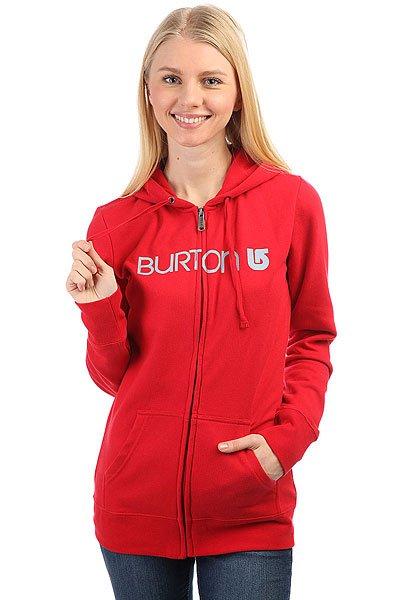 Толстовка классическая женская Burton Her Logo Fz Cardinal