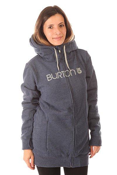 Толстовка сноубордическая женская Burton Sleeper Fz Heather Night Rider<br><br>Цвет: синий<br>Тип: Толстовка сноубордическая<br>Возраст: Взрослый<br>Пол: Женский