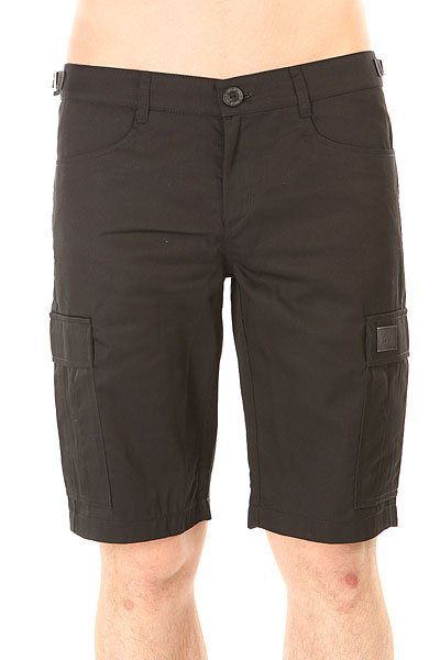 Шорты классические Skills Cargo Shorts Strap Black<br><br>Цвет: черный<br>Тип: Шорты классические<br>Возраст: Взрослый<br>Пол: Мужской