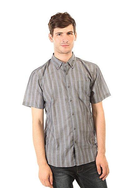 Рубашка Brixton Barson Woven Blue/Slate