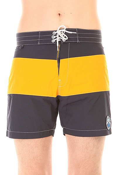 Шорты пляжные Penfield Mens New England 2tone Board Short Navy/Yellow<br><br>Цвет: синий,желтый<br>Тип: Шорты пляжные<br>Возраст: Взрослый<br>Пол: Мужской