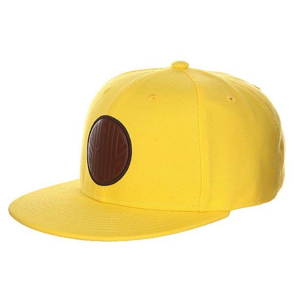 Бейсболка с прямым козырьком Skills 04 Yellow<br><br>Цвет: желтый<br>Тип: Бейсболка с прямым козырьком<br>Возраст: Взрослый