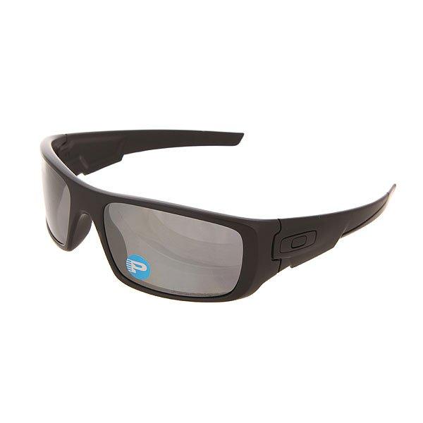 Очки Oakley Crankshaft Matte Black/Black Iridium PolarizedОчки Crankshaft™ - это уличный стиль в уникальном революционном дизайне.Технические характеристики: Оптика высокой четкости HDO® представляет собой запатентованную технологию для оптической ясности, визуальной точности и ударопрочности.Линзы HDPolarized на 99% фильтруют отражения и оптические искажения.Оправа из стрессоустойчивого материала O-Matter™ наиболее легкая и прочная для ежедневного комфорта и защиты.<br><br>Цвет: черный<br>Тип: Очки<br>Возраст: Взрослый<br>Пол: Мужской