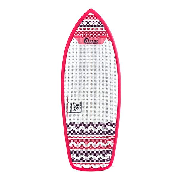 Вейксерфборд A-Frame Crafty 4'7 Fcs Red/White
