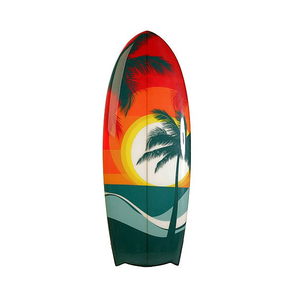 Вейксерфборд A-Frame Sunset 4'5 Fcs Beach Multi