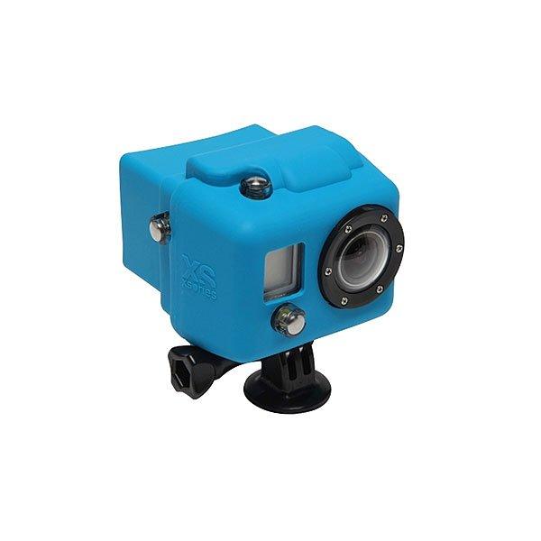 Чехол для экшн камеры GoPro Xsories Hsc/BlueСиликоновый чехол для увеличения производительности и долговечности. Яркие и сочные цвета не дадут затеряться Вашей камере среди остальных. Снимайте больше даже в холодных и сложных условиях!Технические характеристики: Материал - силикон.Чехол увеличивает производительность аккумулятора в холодное время.Обеспечивает защиту от повреждений.<br><br>Цвет: синий<br>Тип: Чехол для экшн камеры
