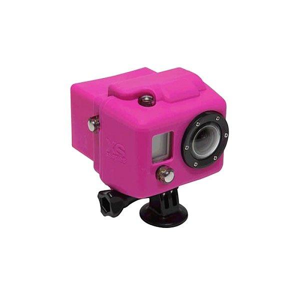 Чехол для экшн камеры GoPro Xsories Hsc/PinкСиликоновый чехол для увеличения производительности и долговечности. Яркие и сочные цвета не дадут затеряться Вашей камере среди остальных. Снимайте больше даже в холодных и сложных условиях!Технические характеристики: Материал - силикон.Чехол увеличивает производительность аккумулятора в холодное время.Обеспечивает защиту от повреждений.<br><br>Цвет: розовый<br>Тип: Чехол для экшн камеры