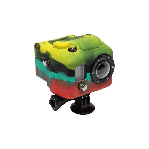 Чехол для экшн камеры GoPro Xsories Hsc/RasСиликоновый чехол для увеличения производительности и долговечности. Яркие и сочные цвета не дадут затеряться Вашей камере среди остальных. Снимайте больше даже в холодных и сложных условиях!Технические характеристики: Материал - силикон.Чехол увеличивает производительность аккумулятора в холодное время.Обеспечивает защиту от повреждений.<br><br>Цвет: мультиколор<br>Тип: Чехол для экшн камеры