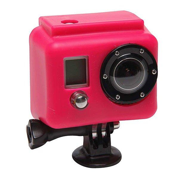 Чехол для экшн камеры GoPro Xs05-gp PinkСиликоновый чехол для увеличения производительности и долговечности. Яркие и сочные цвета не дадут затеряться Вашей камере среди остальных. Снимайте больше даже в холодных и сложных условиях!Технические характеристики: Материал - силикон.Чехол увеличивает производительность аккумулятора в холодное время.Обеспечивает защиту от повреждений.<br><br>Цвет: розовый<br>Тип: Чехол для экшн камеры<br>Возраст: Взрослый